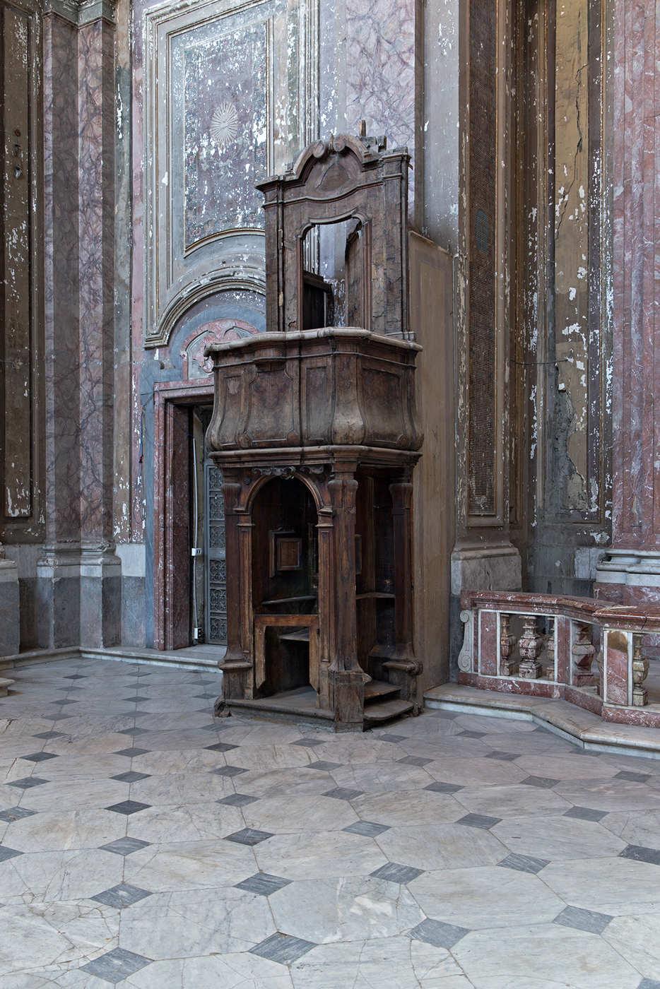 22. Cosimo Fanzago, pulpito confessionale, circa. 1650