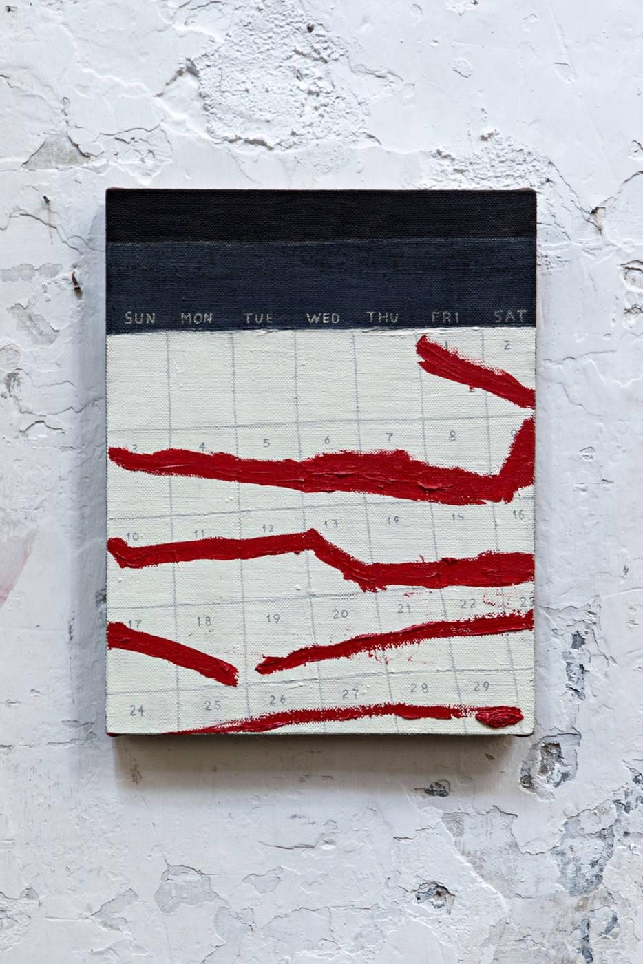 7. Leidy Churchman, Calendar, 2014