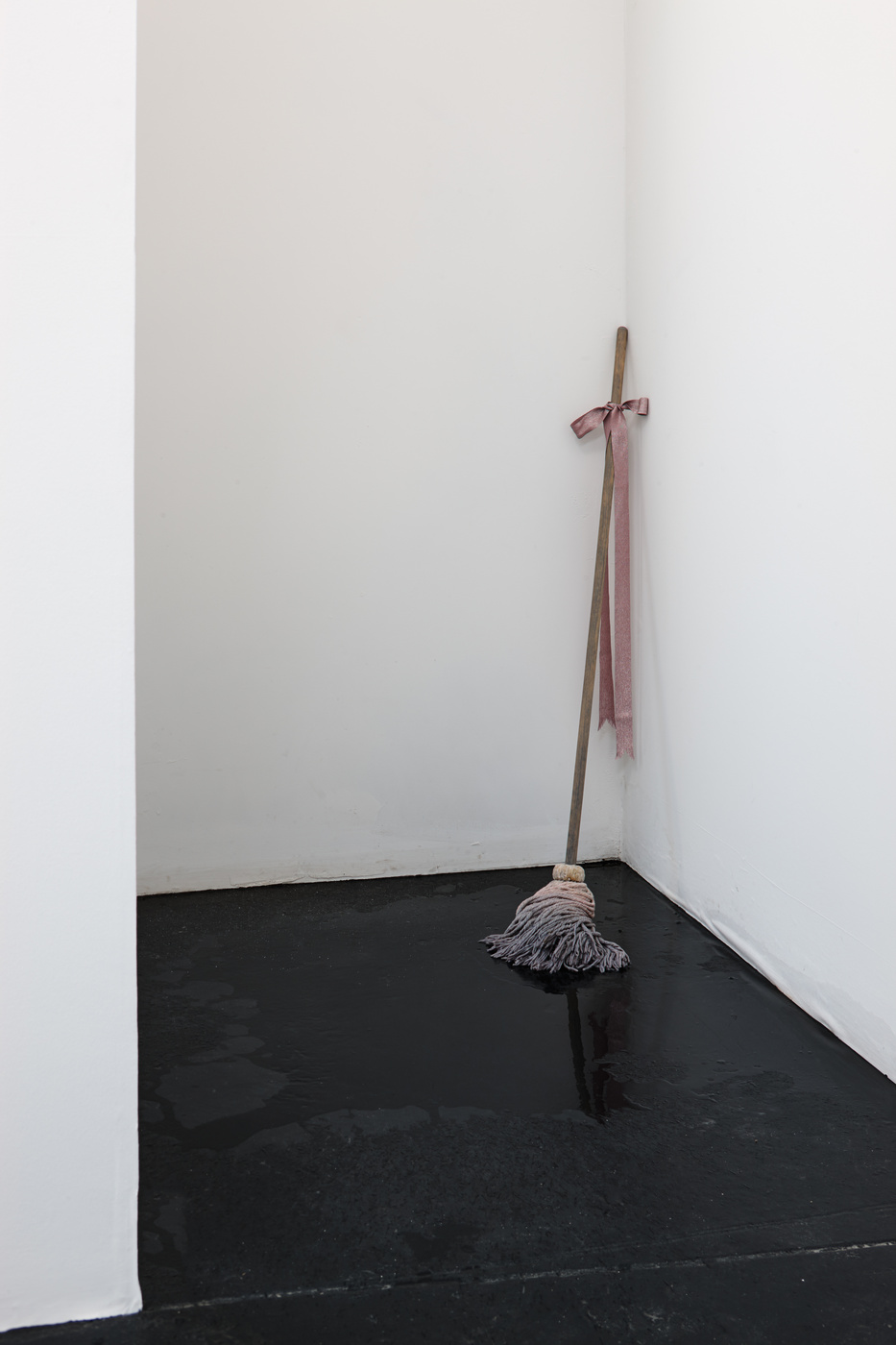 Bunny Rogers - Self Portrait (Mourning Mop), 2013