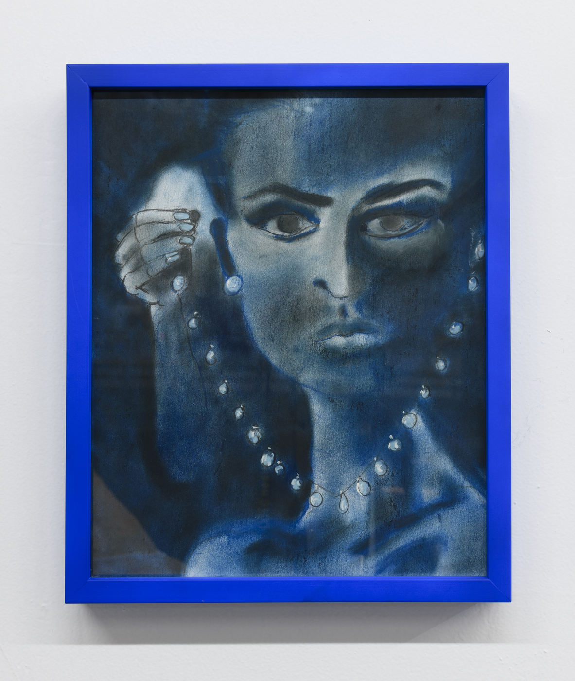 CC16-08_Blue Lady with Pearls
