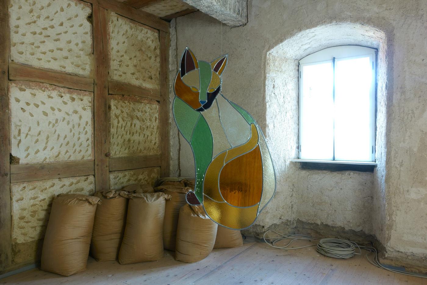 Kunstverein Wiesen_KuWi_Forward to History_Jan Kiefer & Robert Brambora_2016_JK_Room2_b