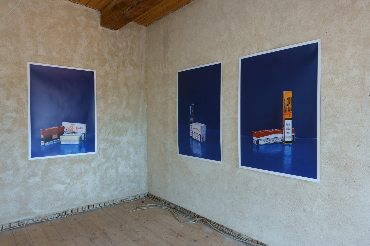 Kunstverein Wiesen_KuWi_Forward to History_Jan Kiefer & Robert Brambora_2016_JK_Room3_a