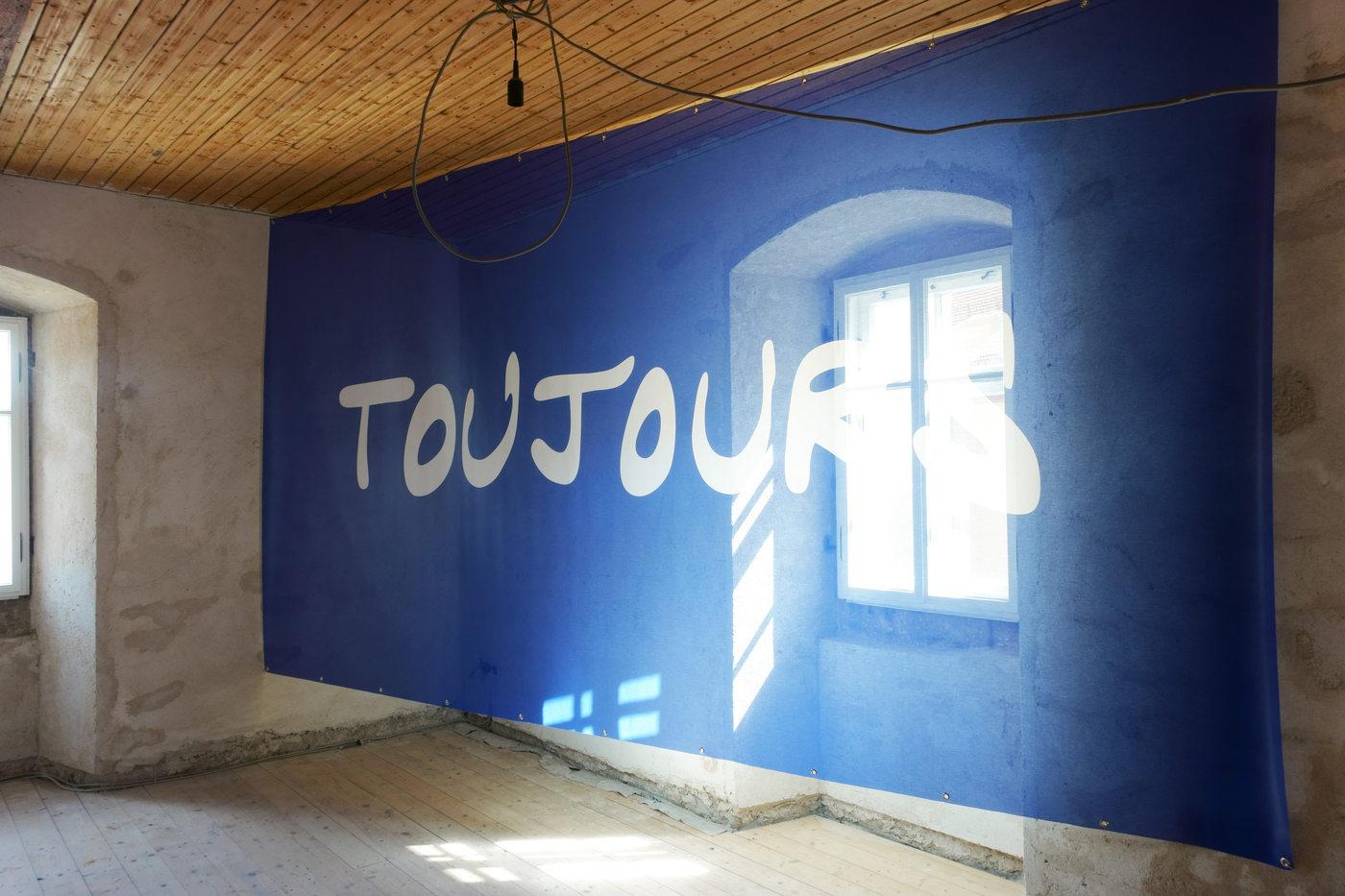 Kunstverein Wiesen_KuWi_Forward to History_Jan Kiefer & Robert Brambora_2016_JK_Room3_b