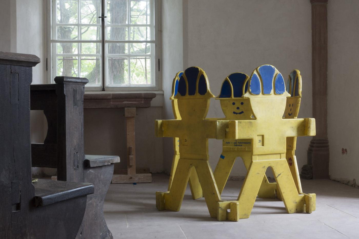 Kunstverein Wiesen_KuWi_Forward to History_Jan Kiefer & Robert Brambora_2016_RB_Room1b