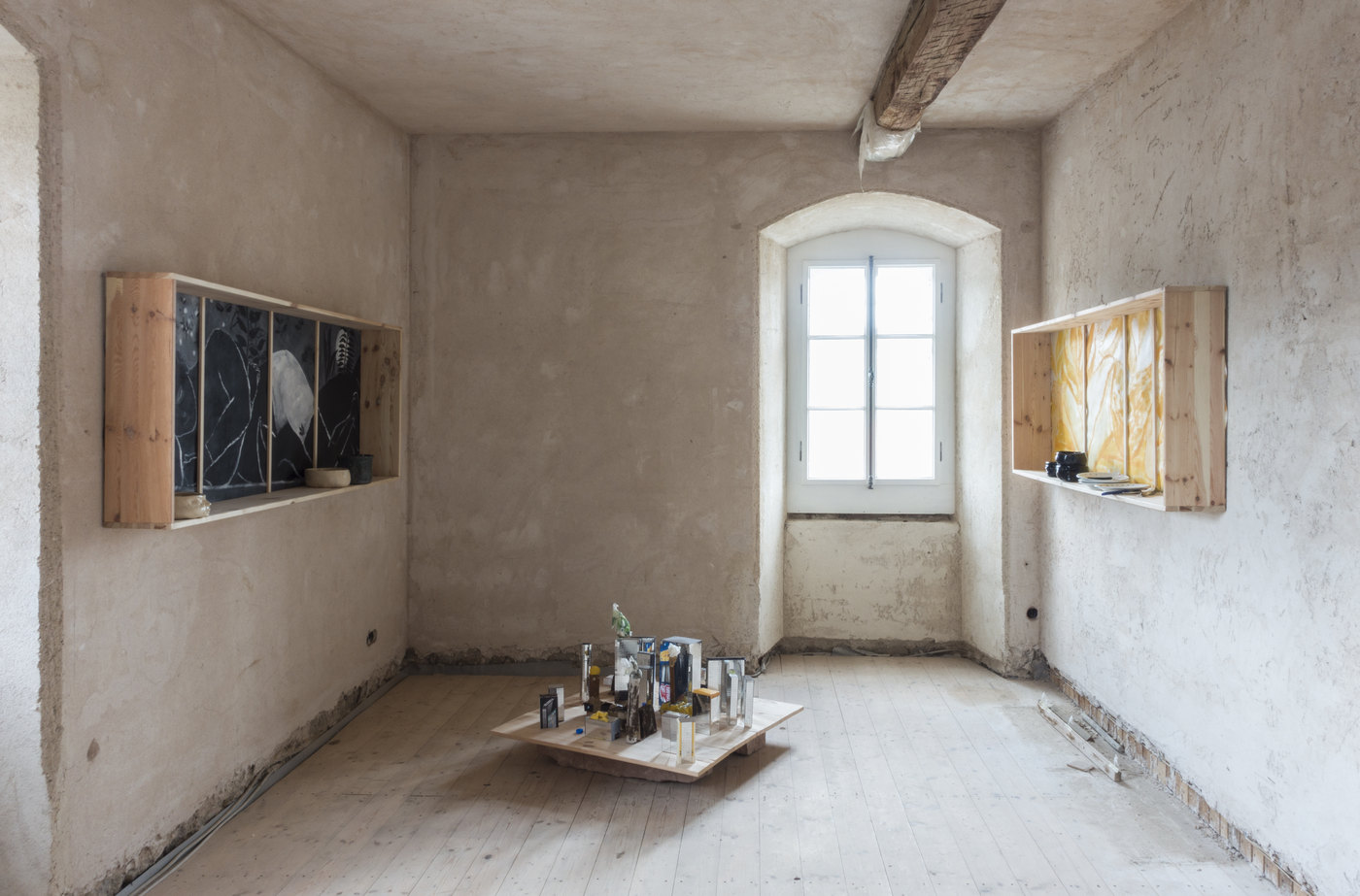 Kunstverein Wiesen_KuWi_Forward to History_Jan Kiefer & Robert Brambora_2016_RB_Room2a