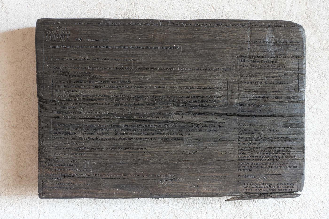 Kunstverein Wiesen_KuWi_Forward to History_Jan Kiefer & Robert Brambora_2016_RB_Room3b
