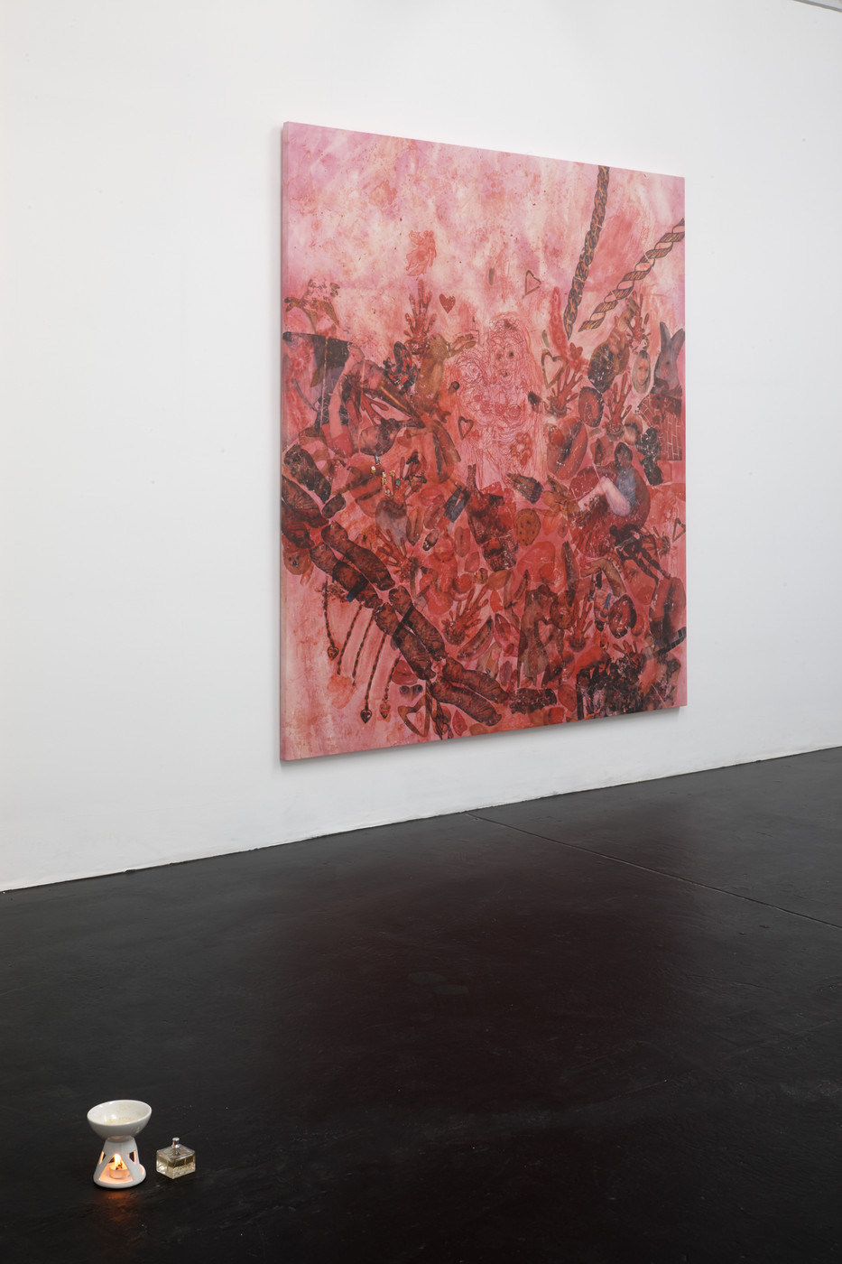 Take this Gum and Stick it - Installation View II