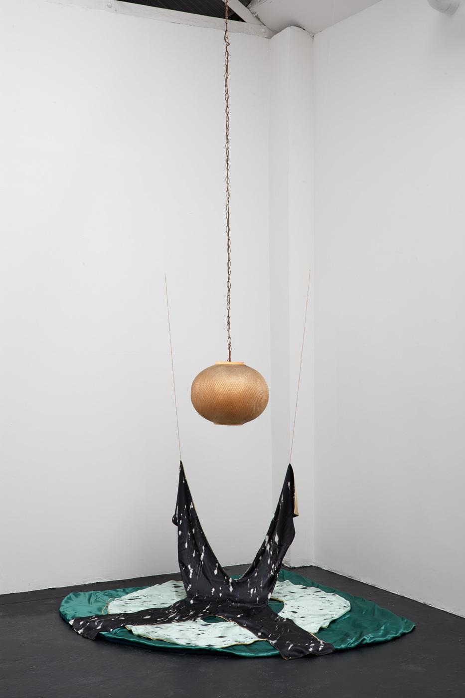 Metaphysical Scarf Experience (Hanna Törnudd) - X,O Letter Scarves, 2014