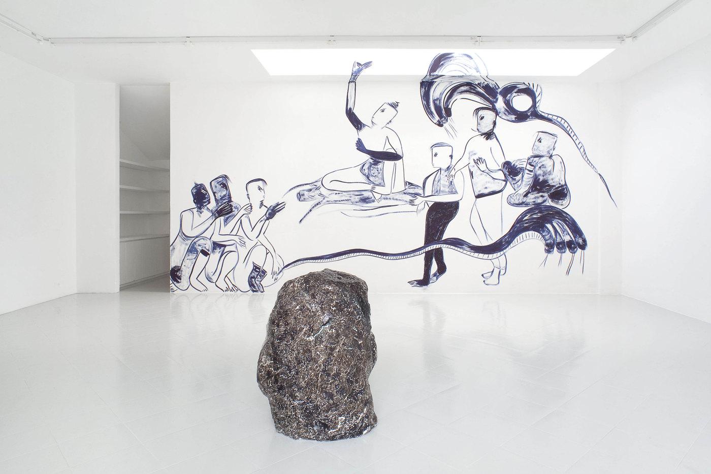 12 - Melike Kara, Lindsay Lawson, Installation View, 2016 - Courtesy Studiolo, Milan