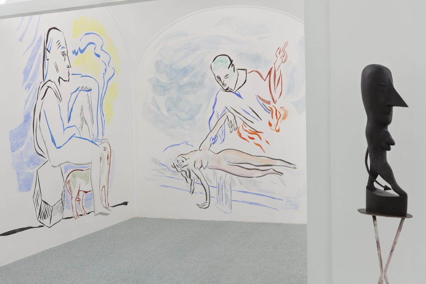 17. Camille Henrot, Monday. Installation view, Fondazione Memmo, Rome, 2016. jpg