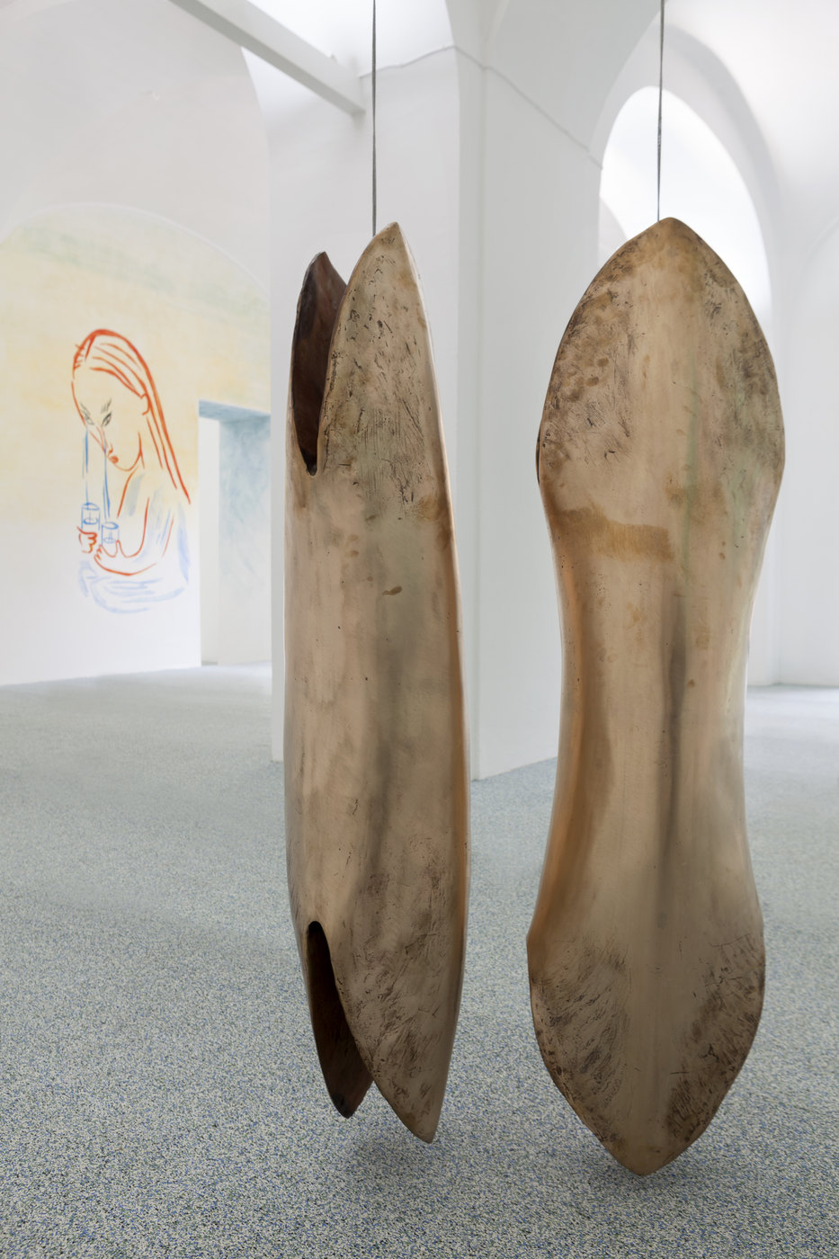 20. Camile Henrot, Punti Cardinali. Bronze, 2016