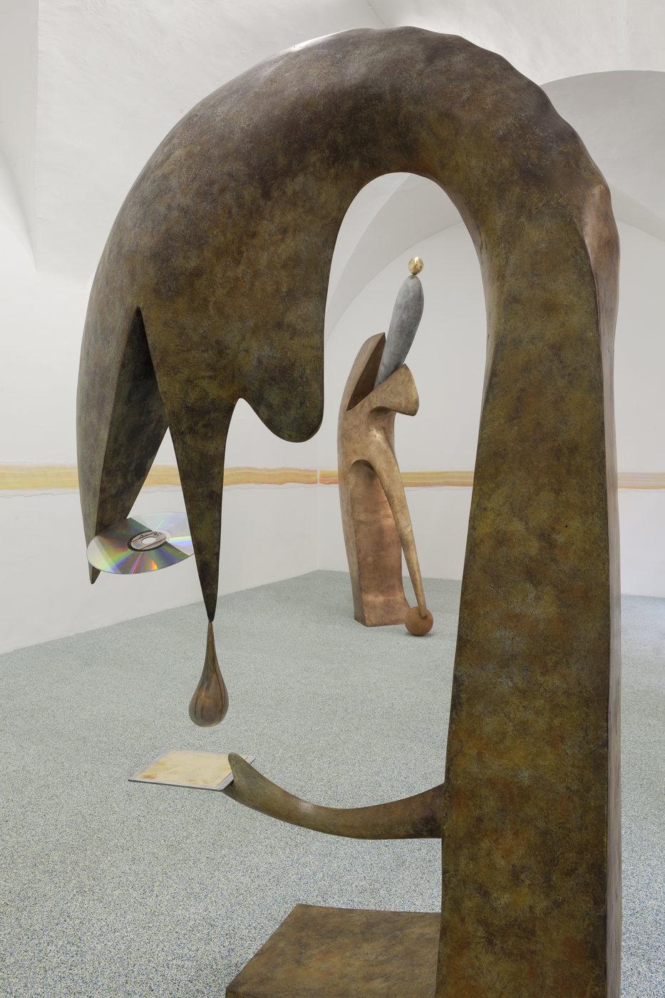 29. Camille Henrot, Monday. Installation view, Fondazione Memmo, Rome, 2016