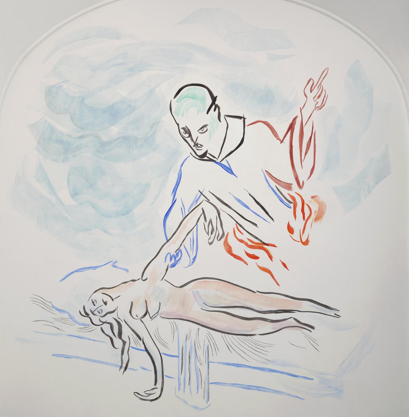6. Camille Henrot, Monday Morning Miracle. Fresco, 2016