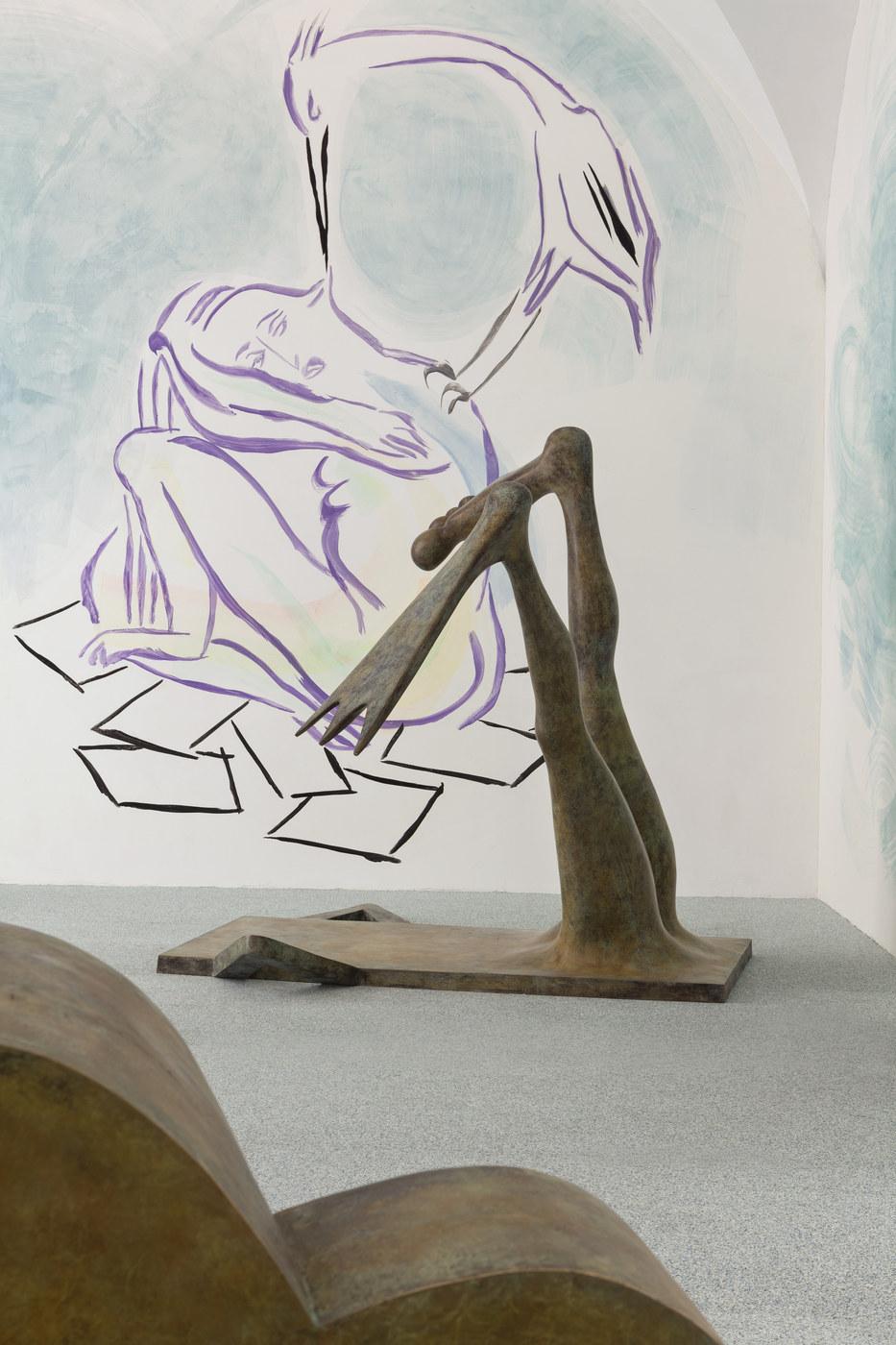 9. Camille Henrot, Monday, Installation view. Fondazione Memmo, 2016