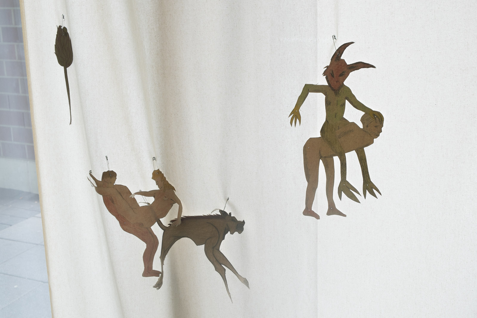 12_Aleksander Hardashnakov_Assorted Cutouts, Detail_ICHTS_2016_Dortmunder Kunstverein_Foto Niklas Taleb