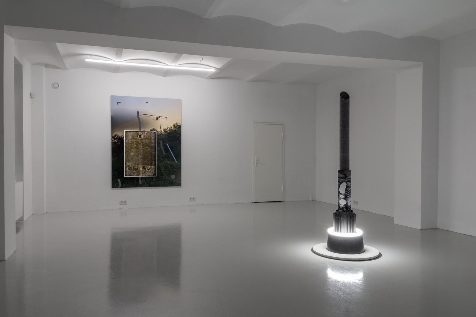 1_Mateusz Sadowski at SKALA_exhibition view