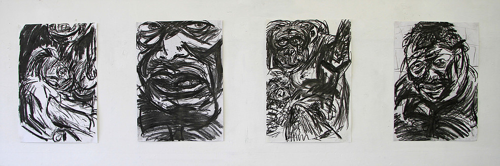 Four drawings (4 x 60 x 45 cm)