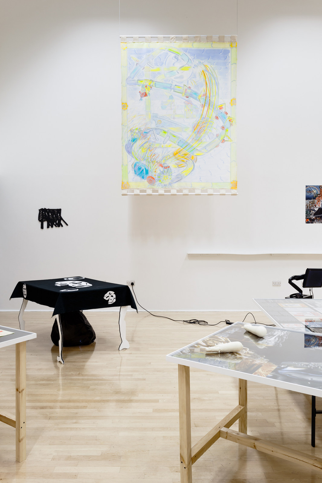 - Installation View 7 Mould Map 6 TERRAFORMERS