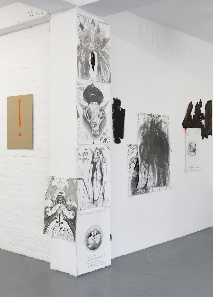 Installation View Thomas Palme PALM-CAT 666 1