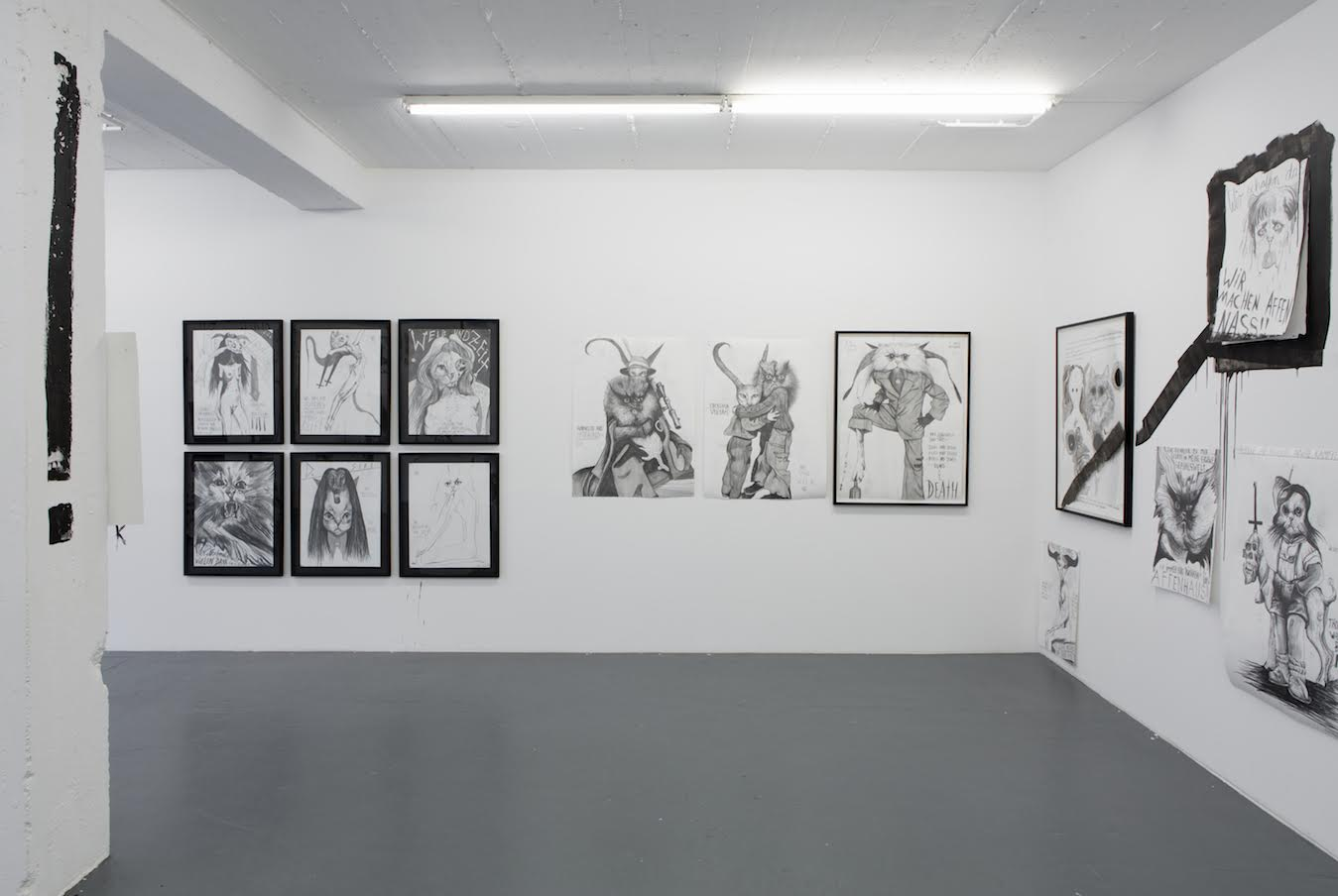 Installation View Thomas Palme PALM-CAT 666 4