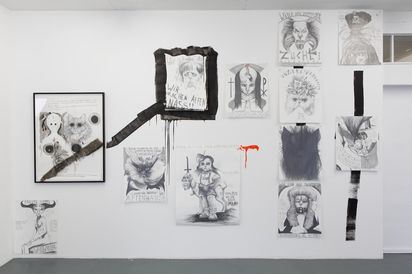 Installation View Thomas Palme PALM-CAT 666 6