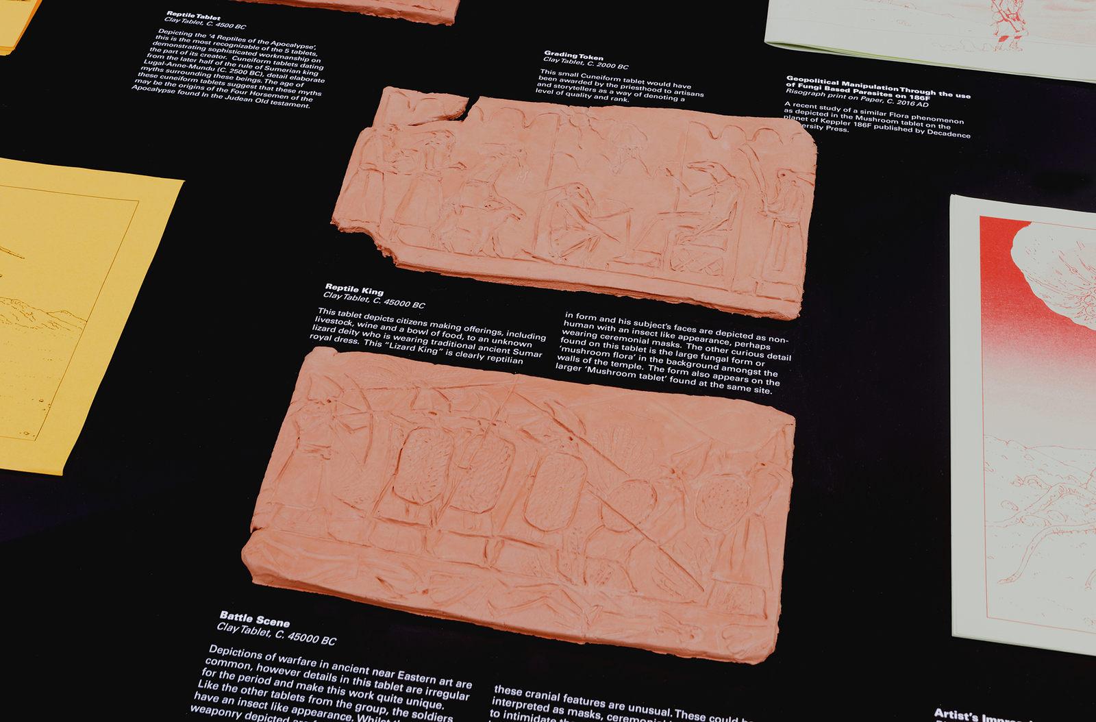 Lando - Archaeological Presentation by Decadence University Press - Reptile Tablet and the Mushroom Mythos (2015)