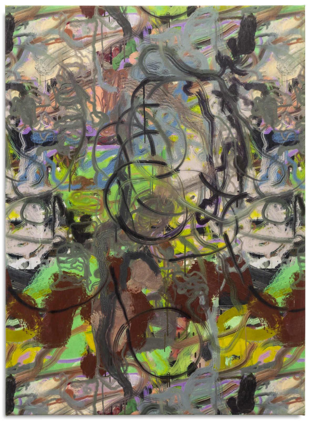 Versteeg_For Steadman_Algorithmically generated image printed on canvas, Rhoplex_34x25_2016