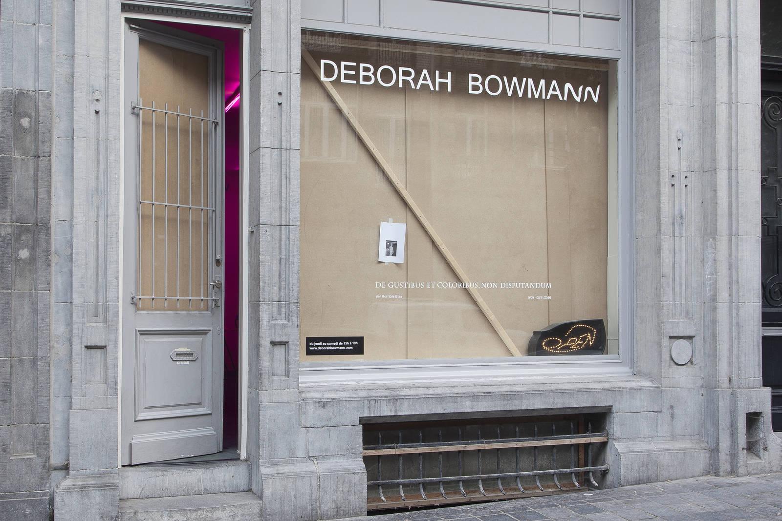 0 - 'De gustibus et coloribus non disputandum' by Horrible Bise at Deborah Bowmann