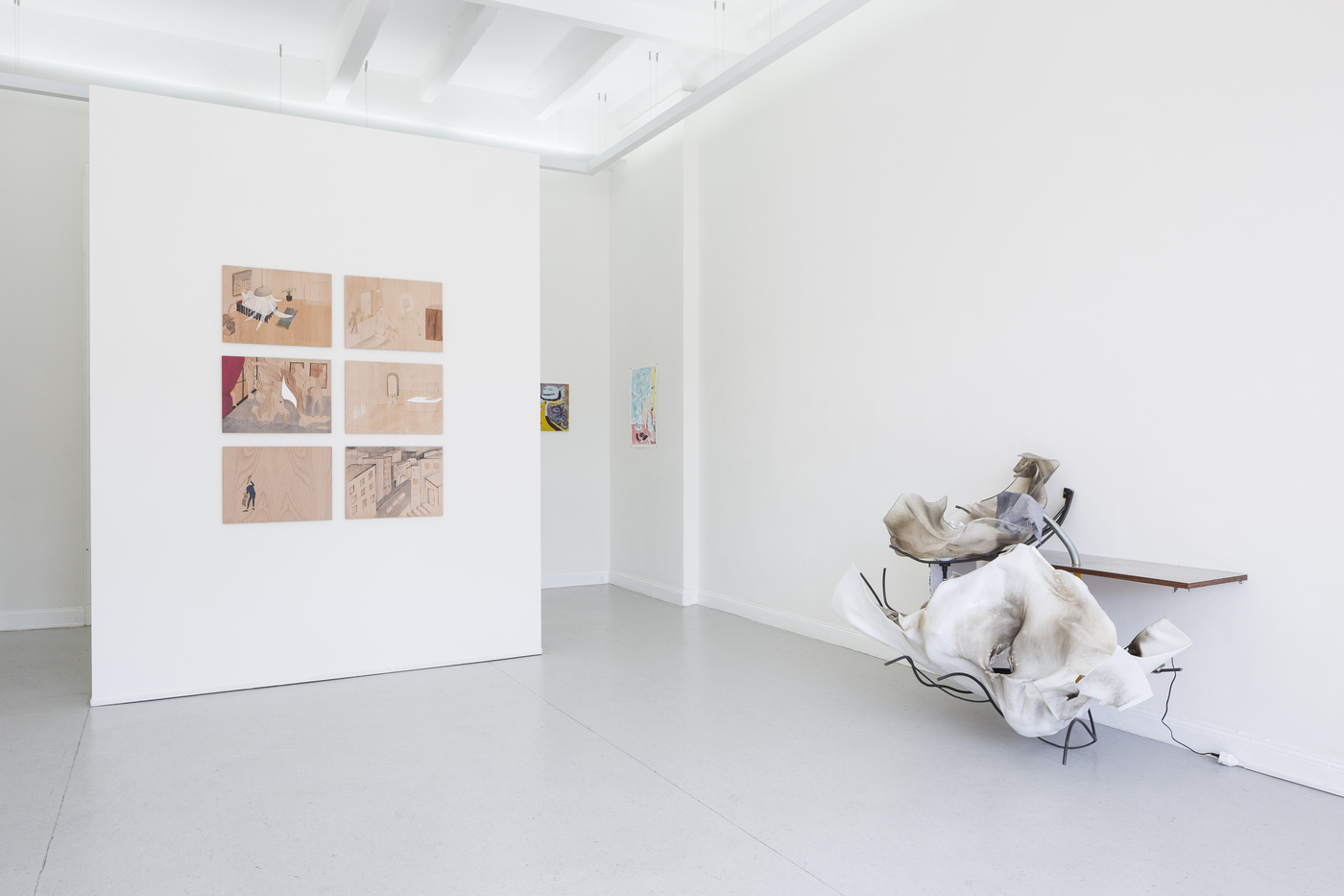 10_Installation_View_ToLieInTheCheeseToSmileInTheButter_KUNSTSAELEBerlin_2016_Frank_Sperling