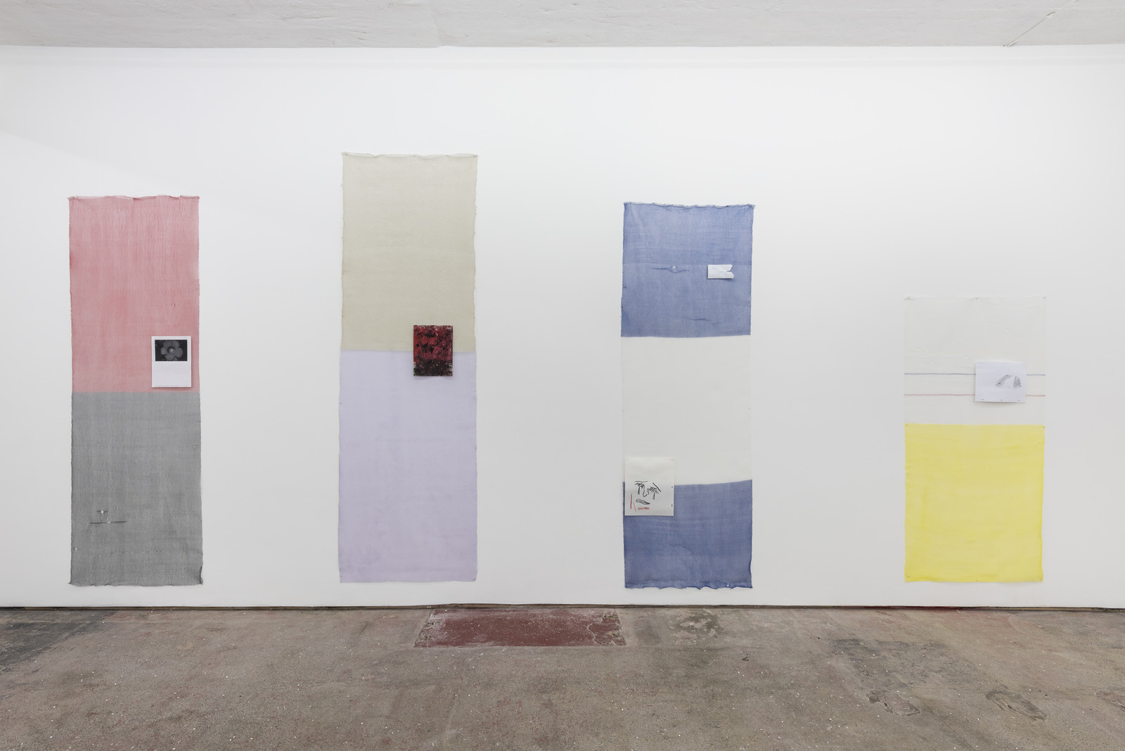 Luis Miguel Bendaña, Installation view