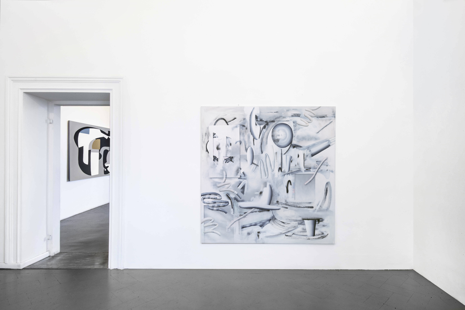 4.Installation view. Hayal Pozanti, Michael Debatty. Courtesy of eduardo secci Contemporary