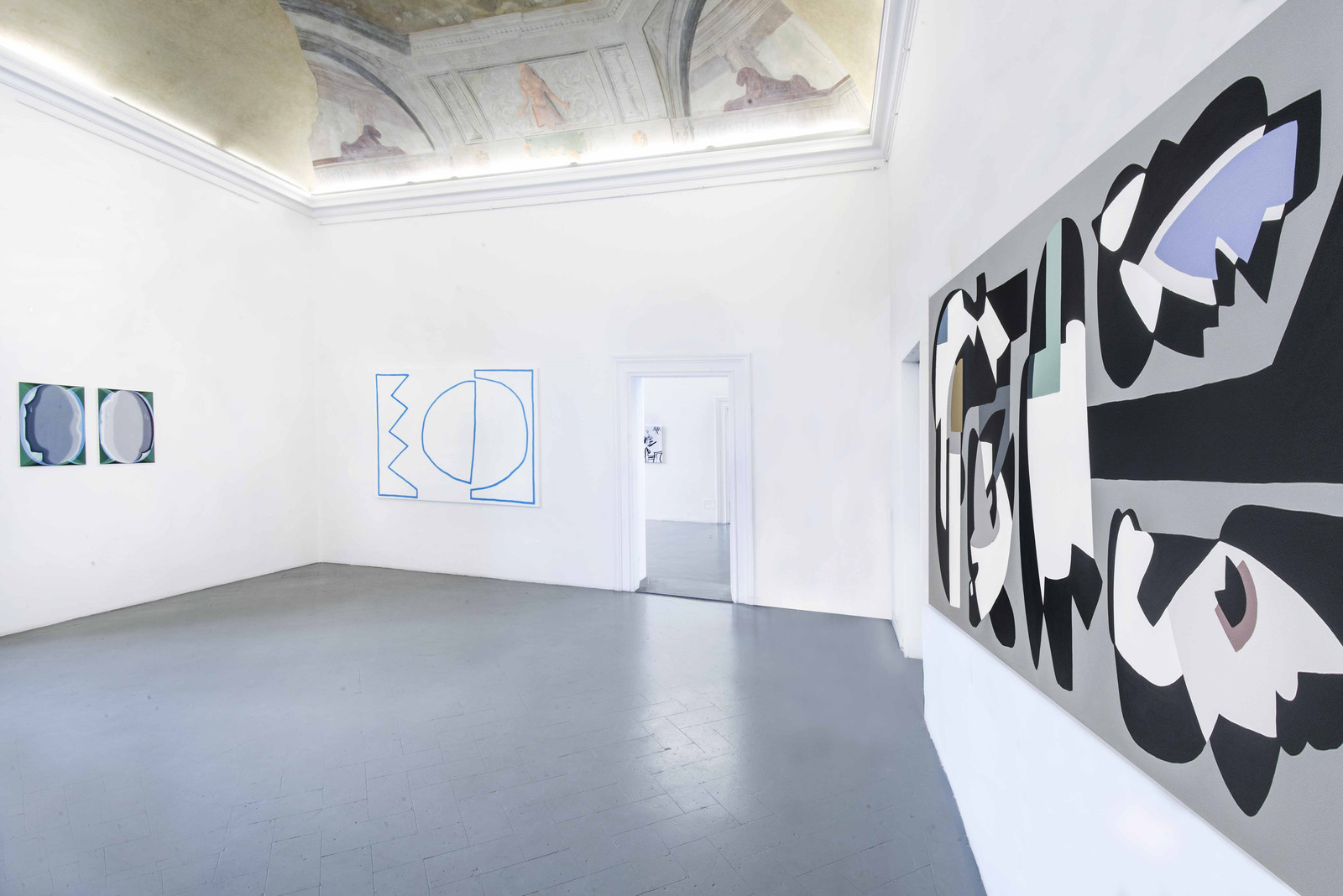 7.Installation View. Heather Guertin, Stephen Felton, Sofia Leiby, Hayal Pozanti