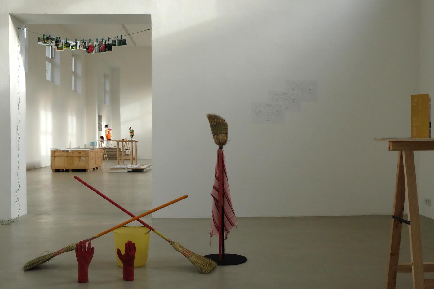 Darius Mikšys, Hayward & Tamayo, Exhibition View in Kunstverein München 2016 © Kunstverein München e.V._44