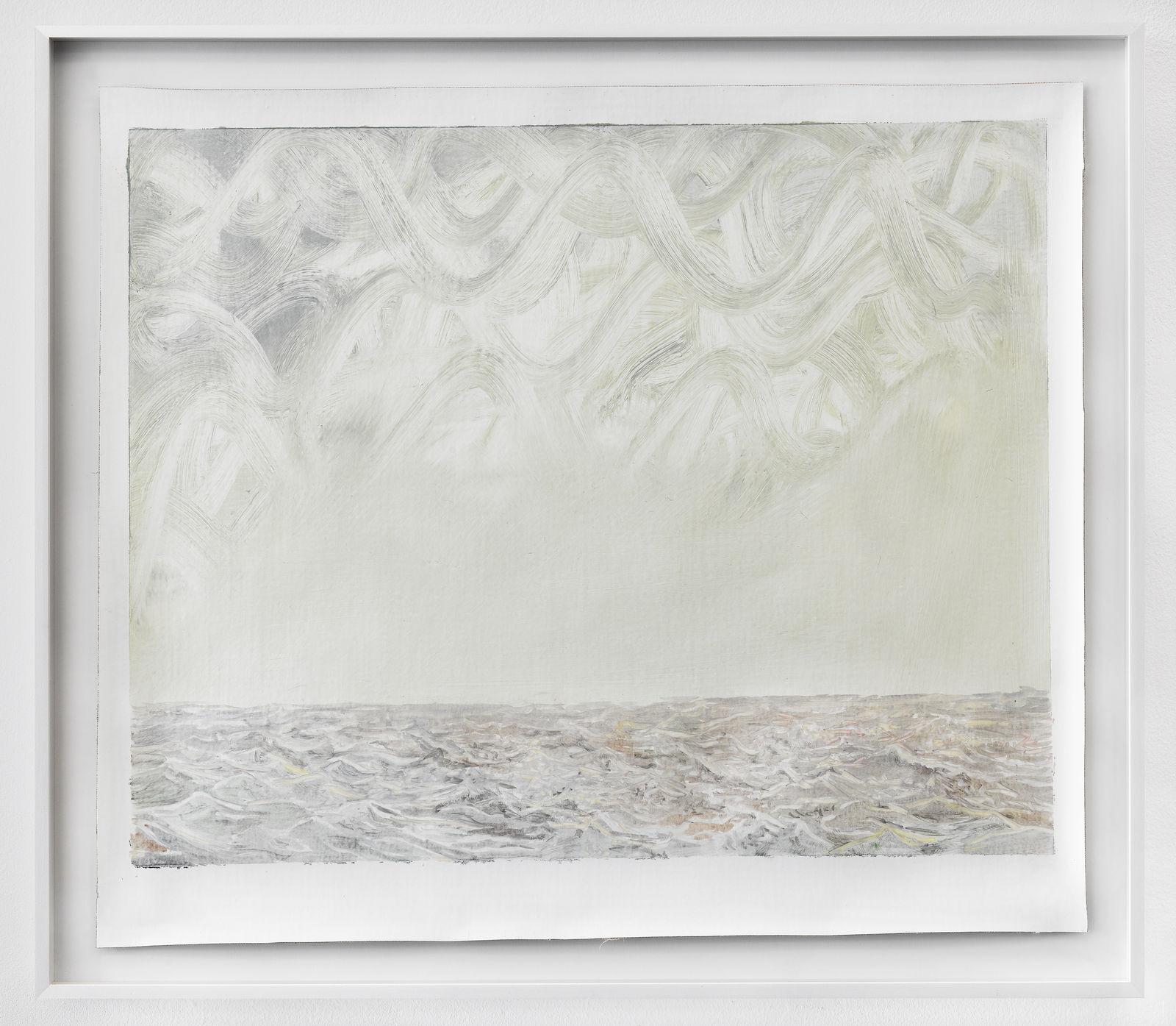Femmy Otten, Eyes on the Horizon, no. 3, 2016, oil on canvas, framed, 55 x 62,5 cm