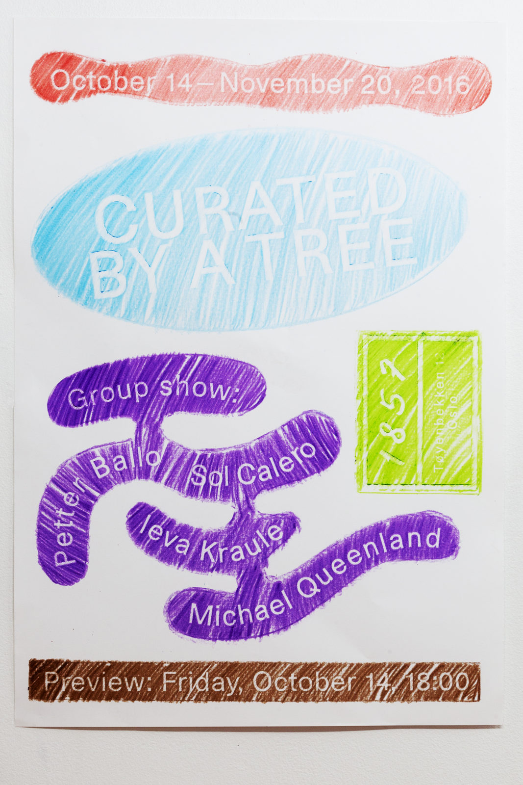 XX-Curated by a Tree-Poster