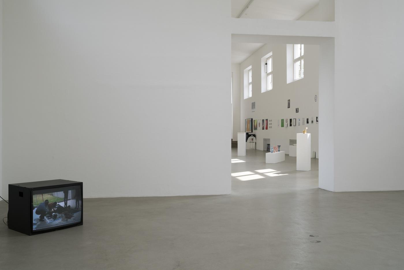 Darius Mikšys, Hayward & Tamayo, Exhibition View in Kunstverein München 2016 © Kunstverein München e.V.1