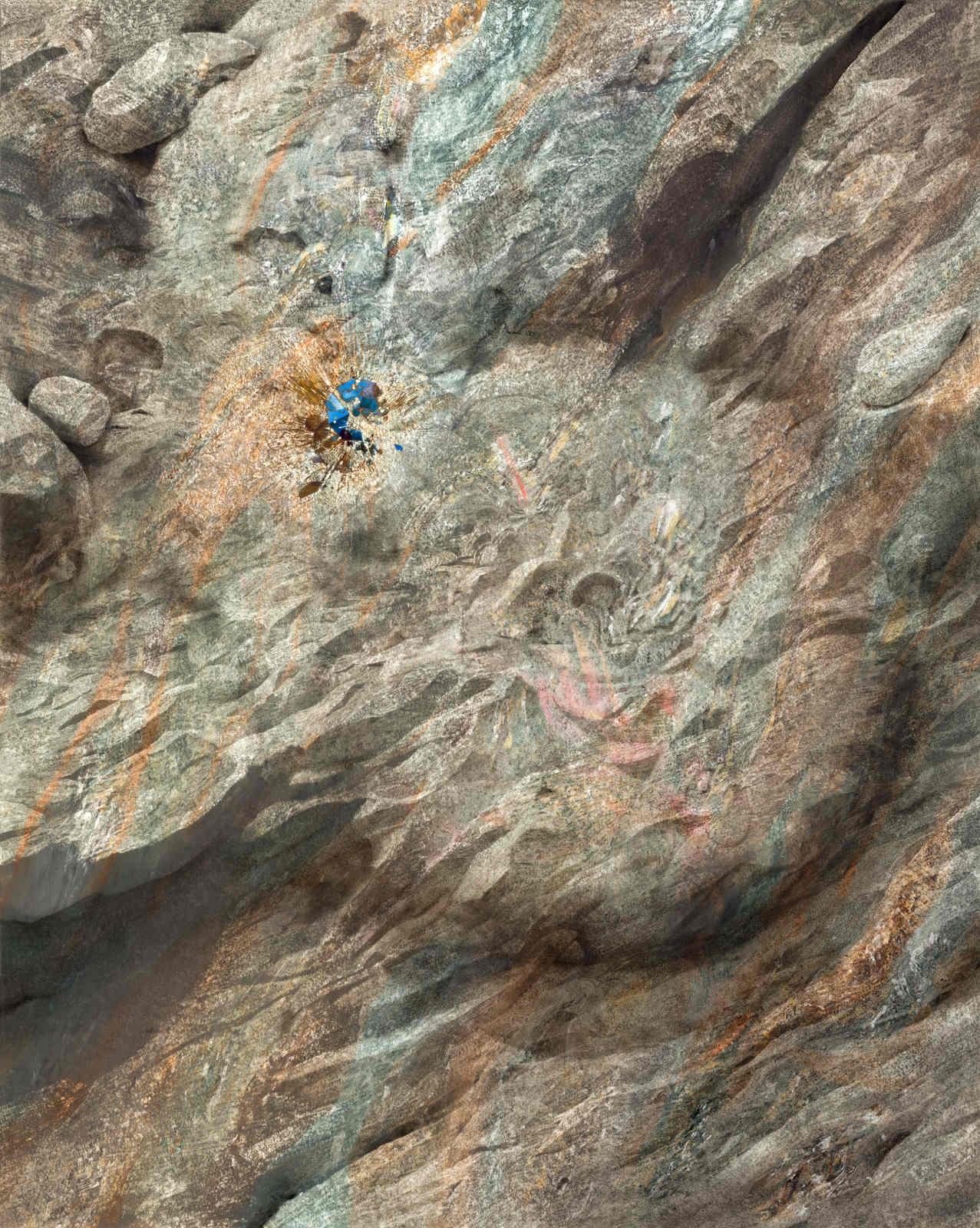 13_Guggisberg, Stefan_Kollision_125 x 100 cm_2015_oil on paper