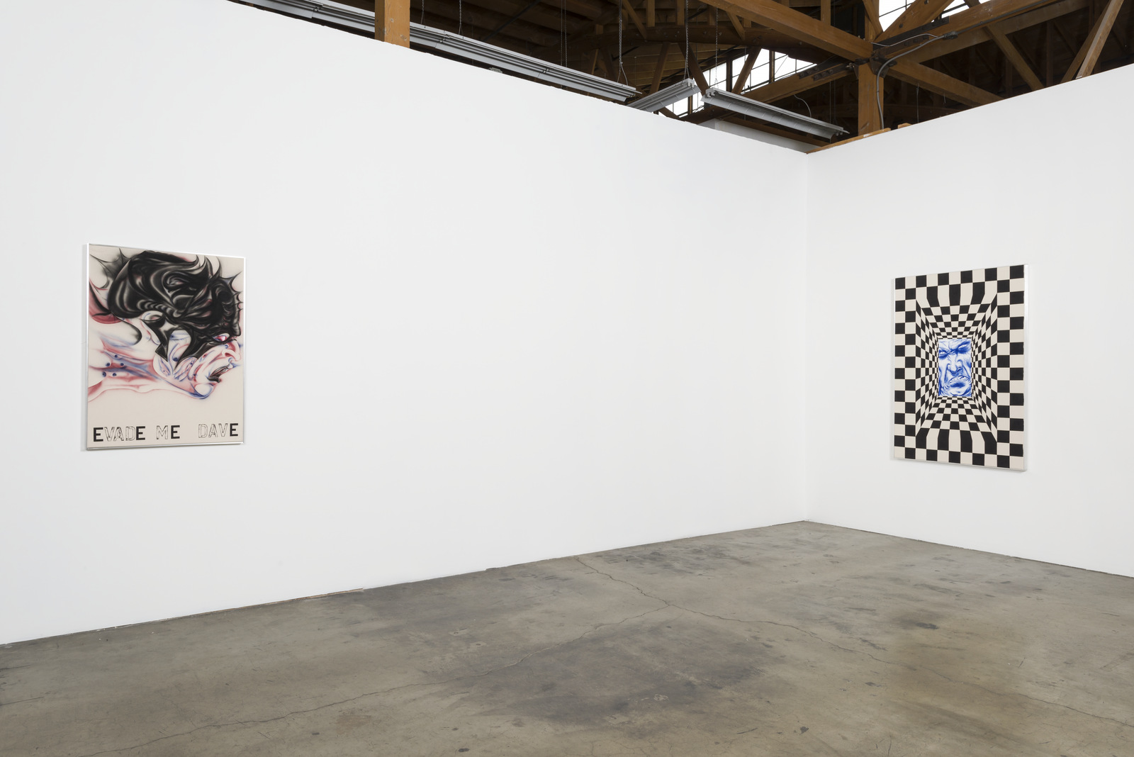3_Installation View, Zoe Barcza, DR AWKWARD, Ghebaly Gallery