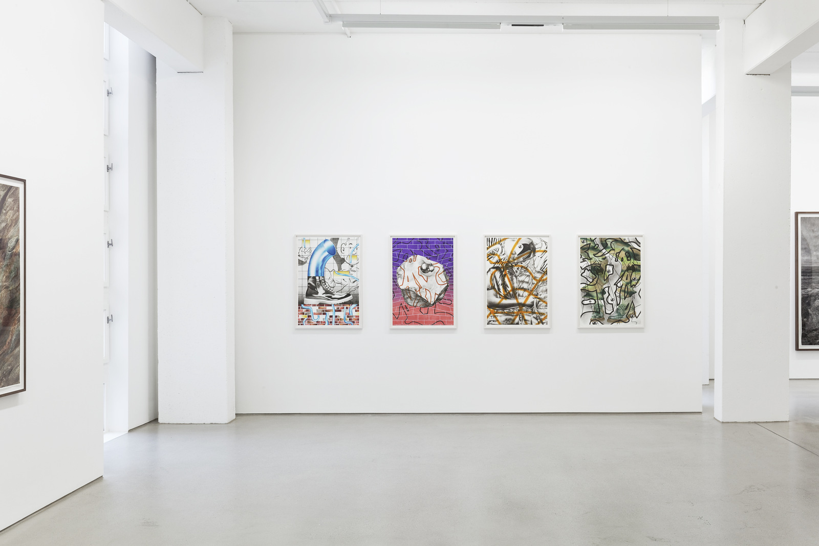 7_installation view_Burger Guggisberg_Through a Glass Clearly_G2 Kunsthalle_photo Dotgain