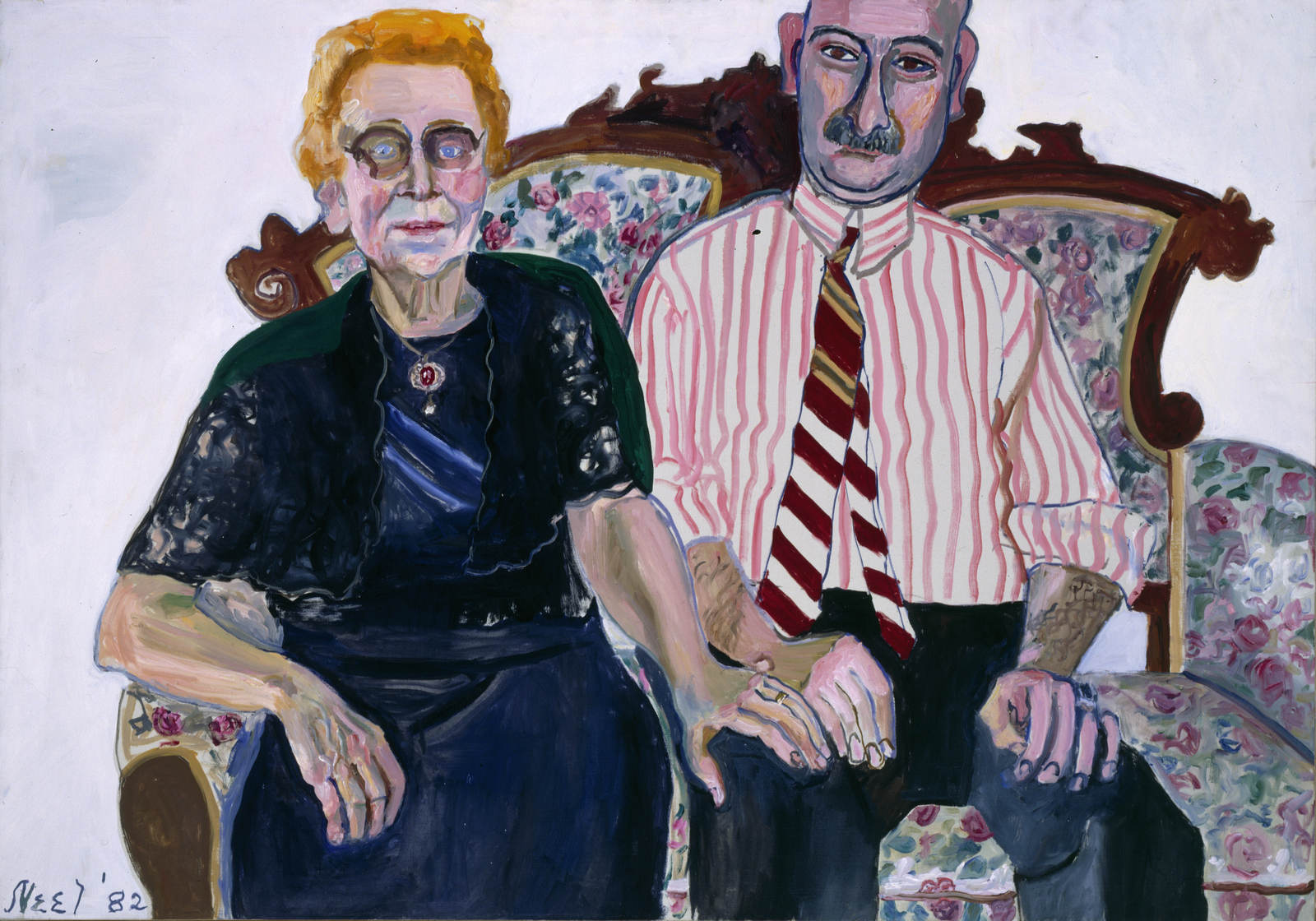Alice Neel_Anne-Marie and Georgie 1982