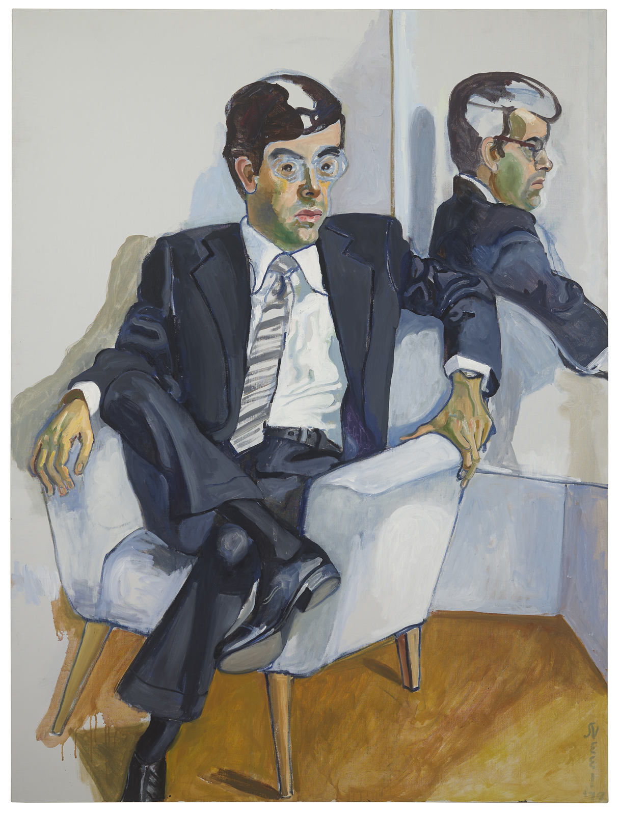 Alice Neel_Richard in the Era of Corporation 1978_1979