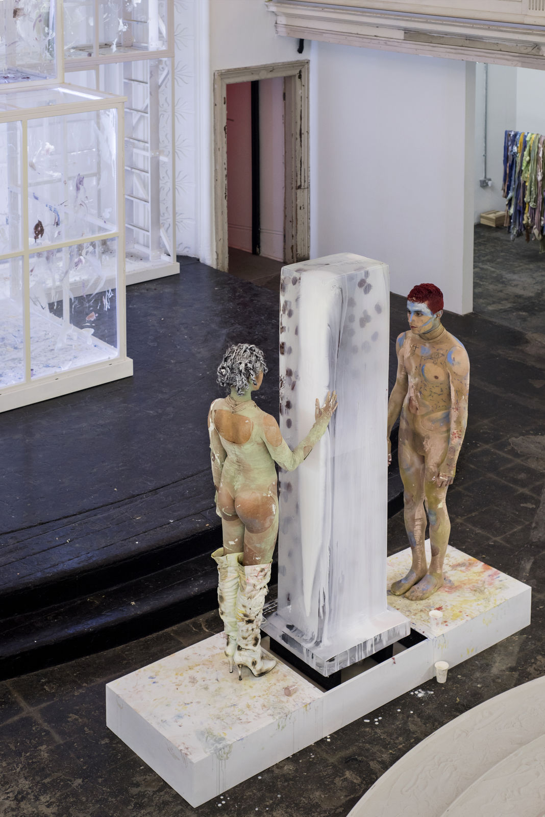 Donna Huanca - Scar Cymbals - performance 07.10.16 - Image Thierry Bal13