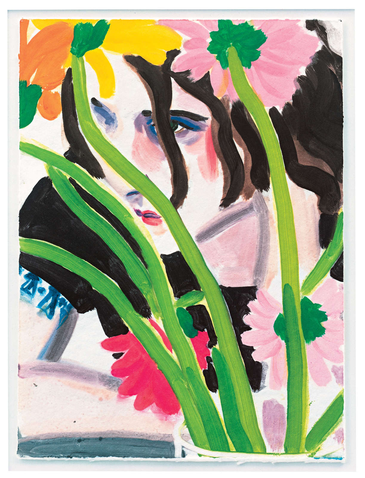 Elizabeth Peyton_Flower Ben_2002