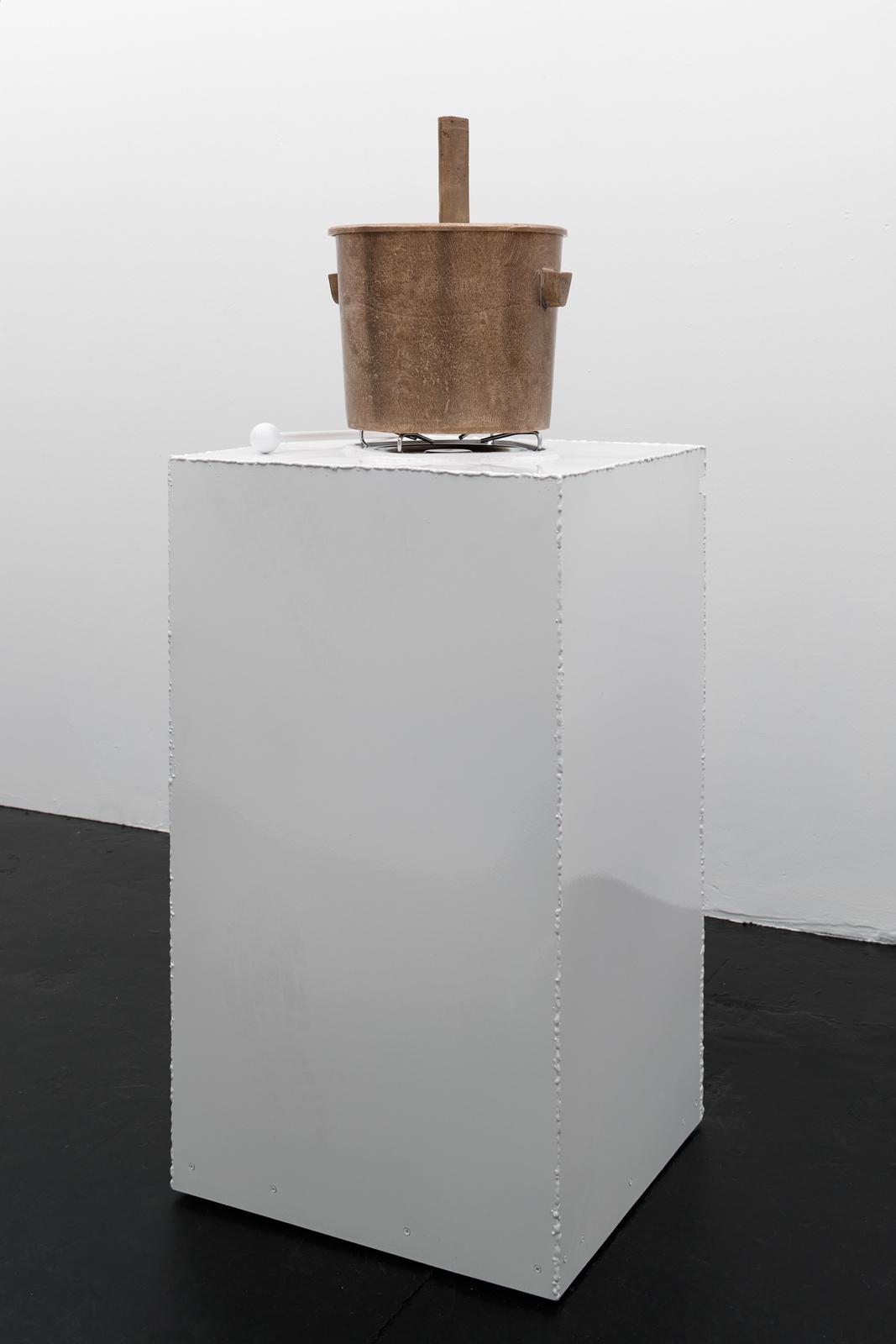 Franz West - Caldare ( A mobile stove sculpture object), 1991