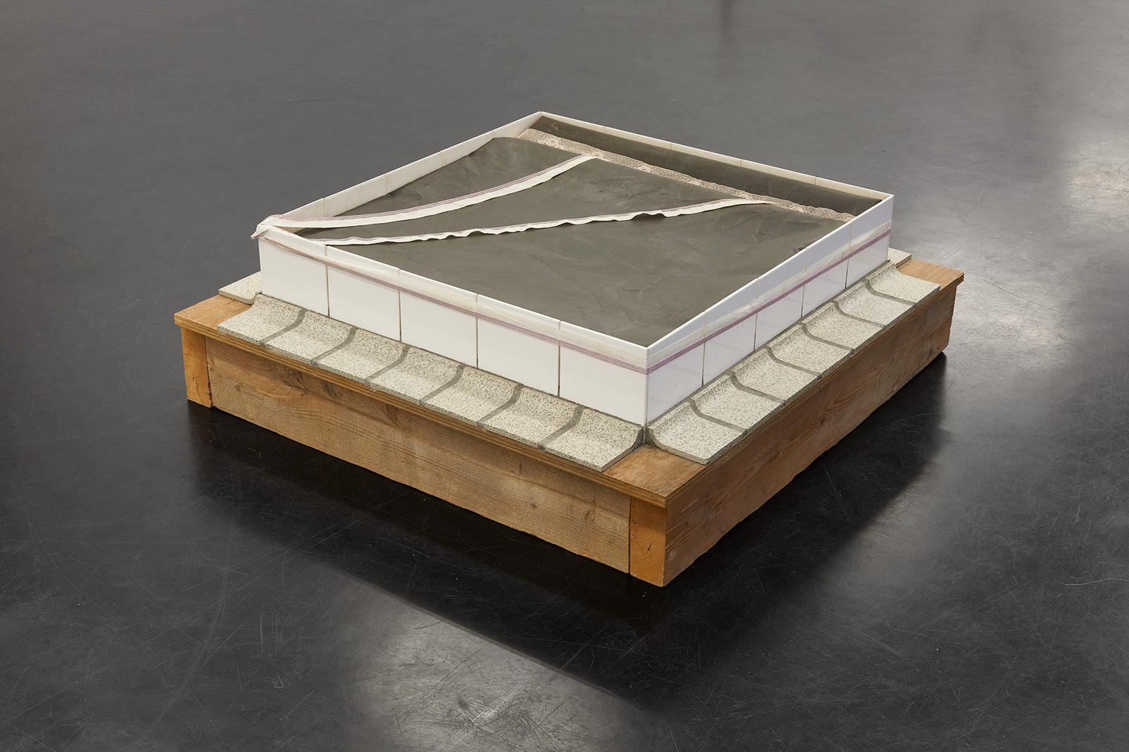 Ger van Elk_Piece Made in One Hour_1968_Markus Luettgen Gallery_View_1