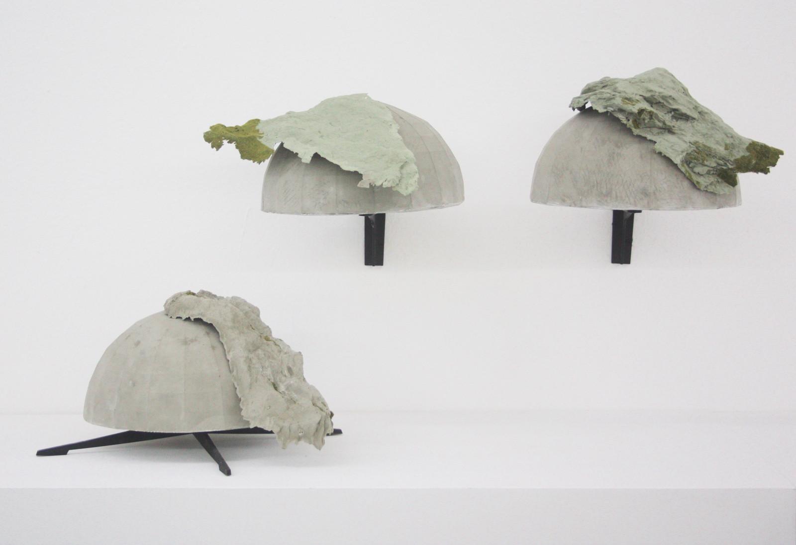 Katleen Vinck, f3.42, f3.51, f3.53, foam, acryl, wood