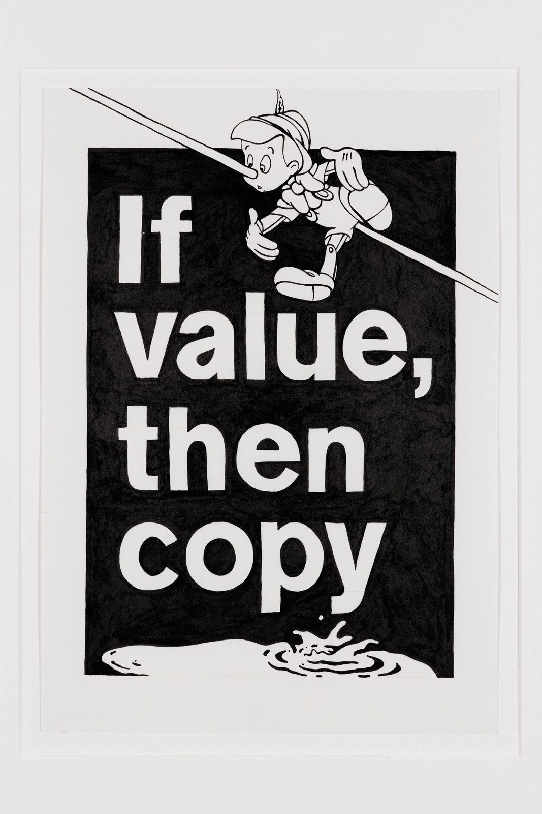 Yoan Mudry - If Value then Copy, 2016