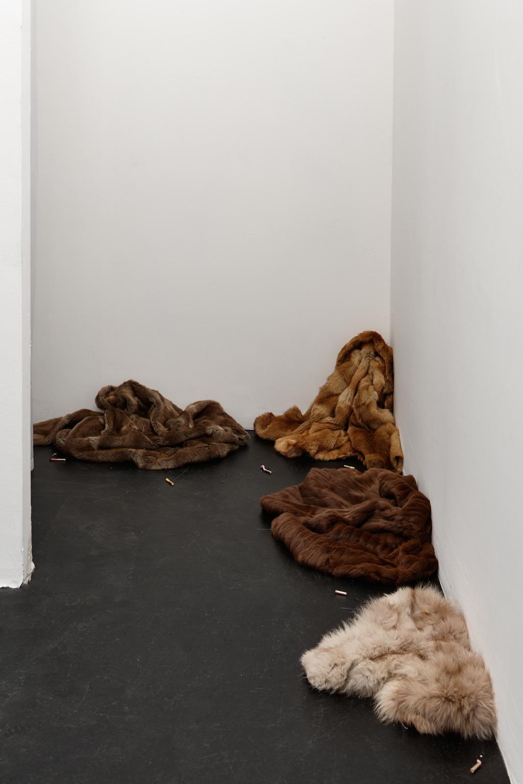 Zoe Williams - Pel remnants (Smoking in Furs), 2016