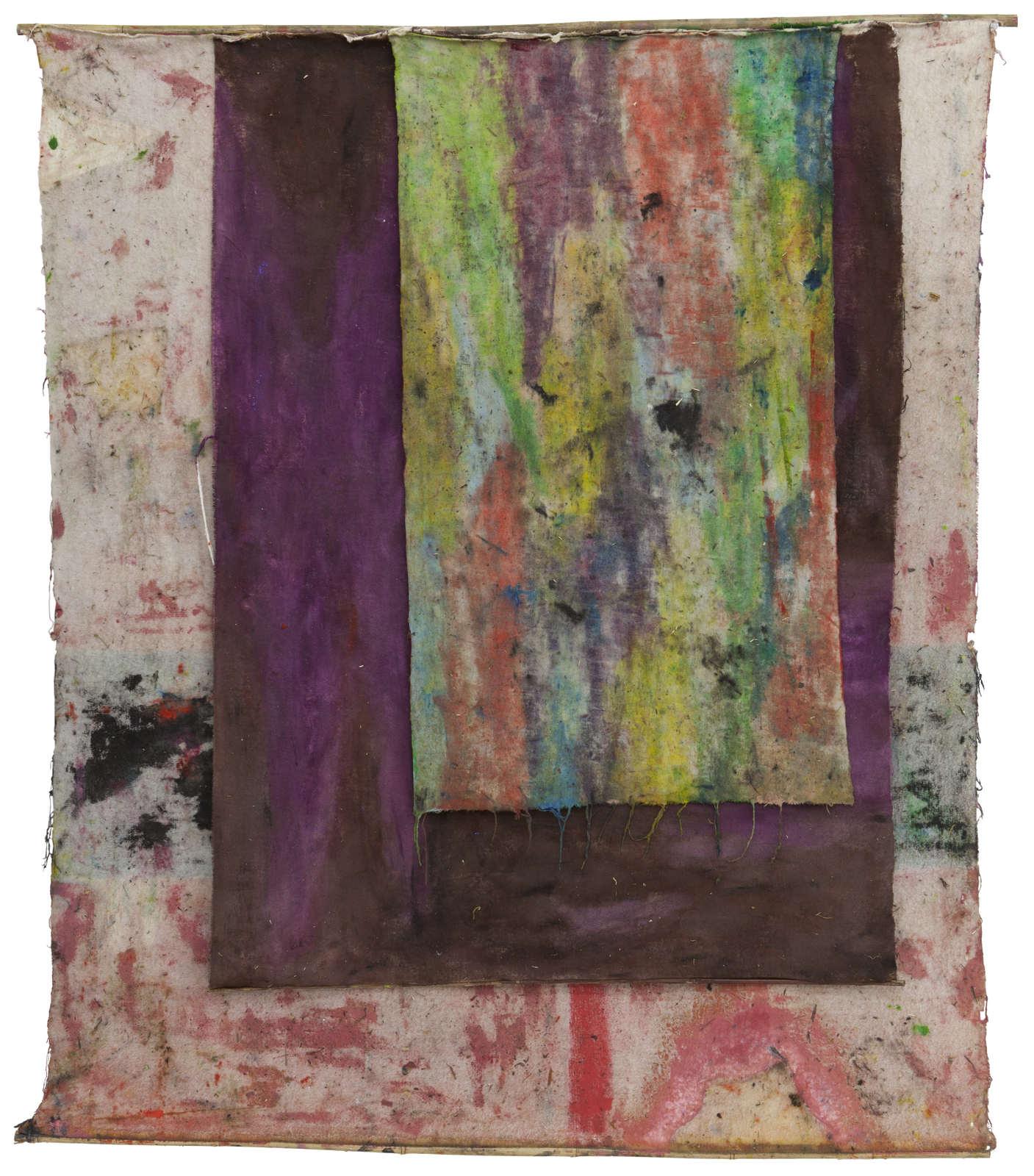 4.SD.10.16.o.T._162 x 138 cm_Oil on molton, bamboo