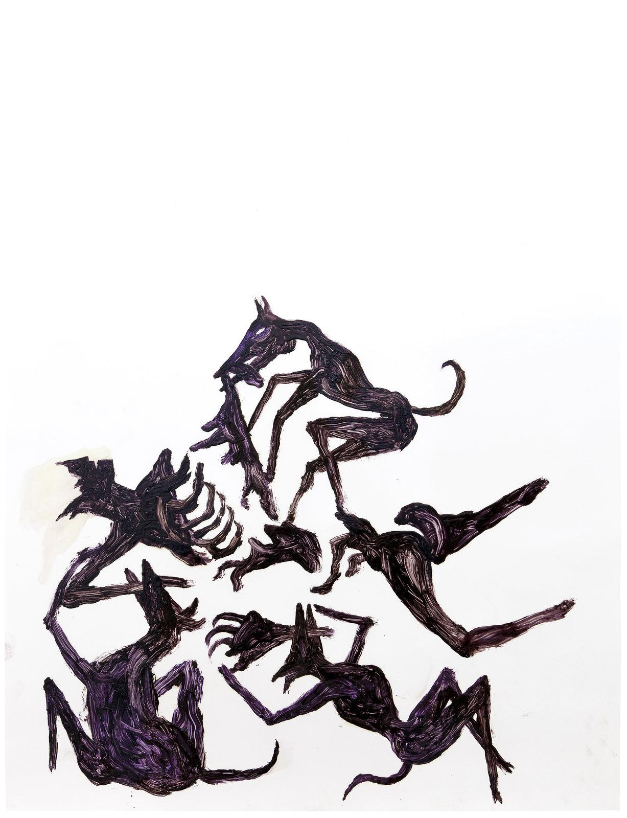 6.SD.10.16.03._o.T._64,9 x 49,8 cm_Oil on chromolux paper